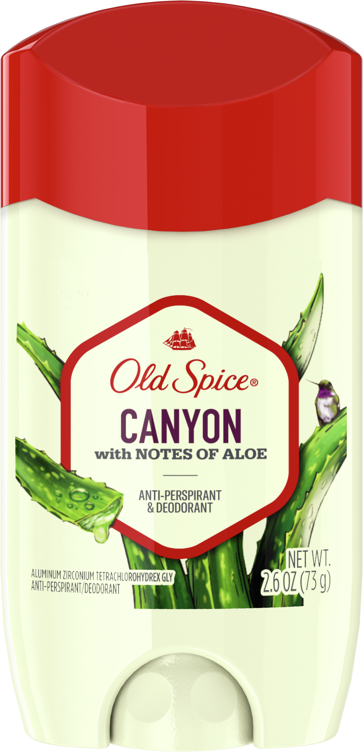 Canyon with Aloe Antiperspirant & Deodorant
