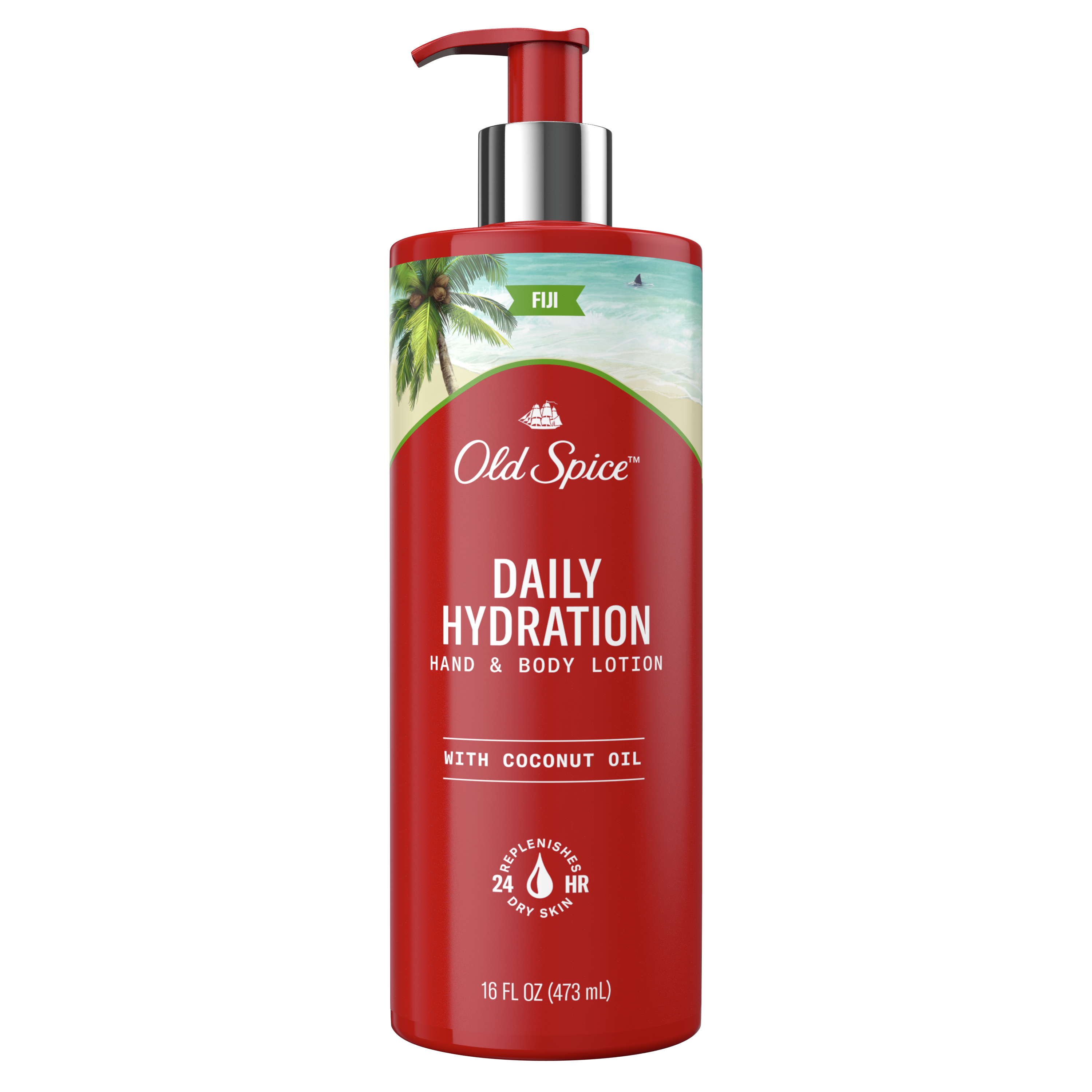 Hand & Body Lotion, Fiji with Coconut Oil