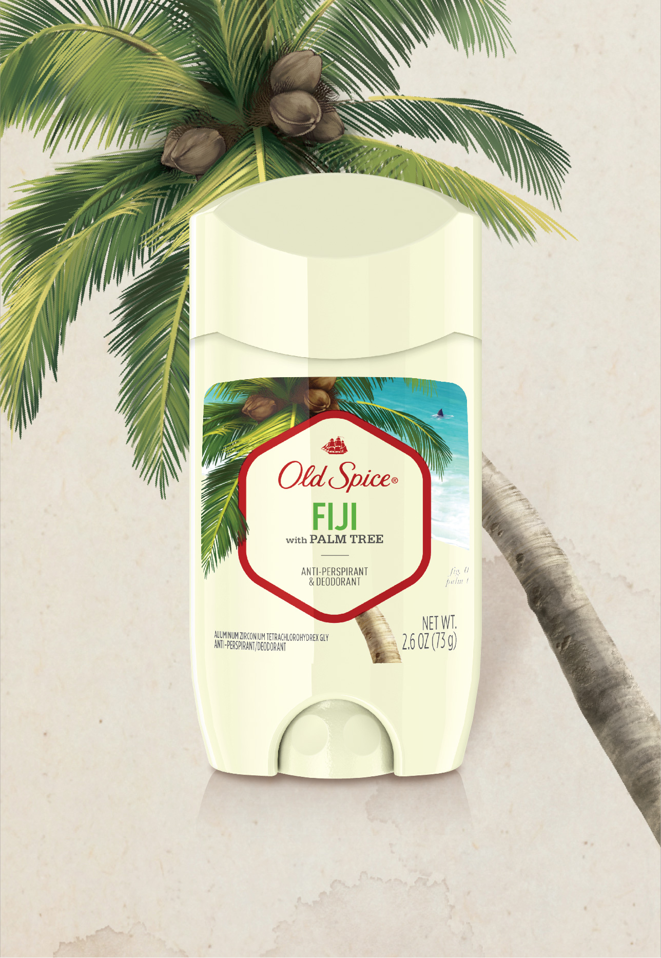 Fiji with Palm Tree Antiperspirant