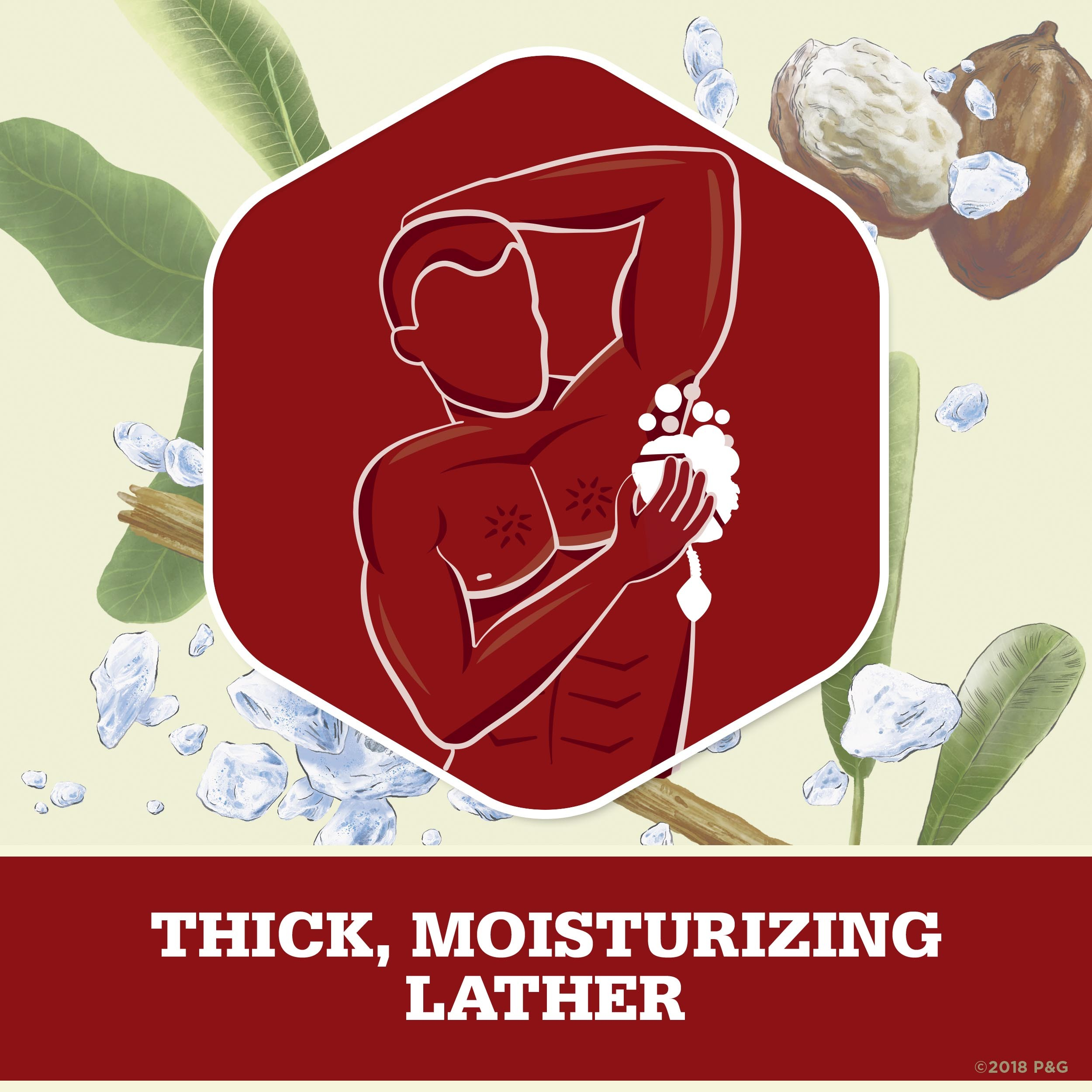 Moisturize with Shea Butter Body Wash