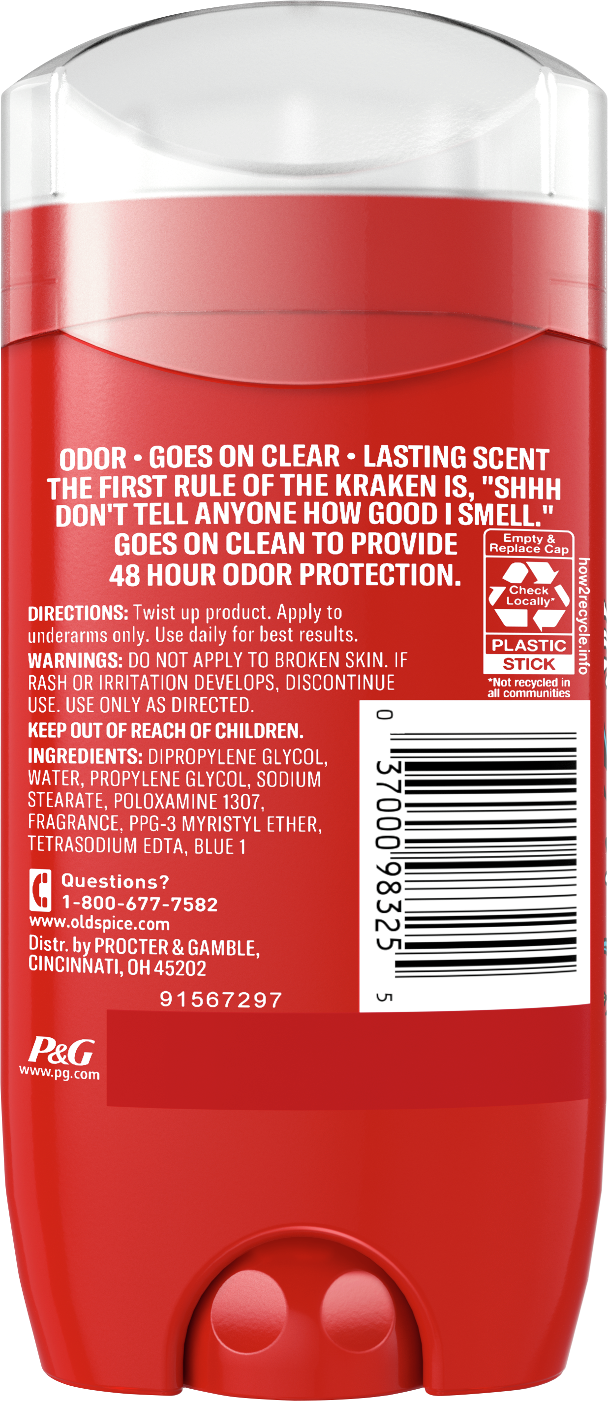 Krakengard Deodorant