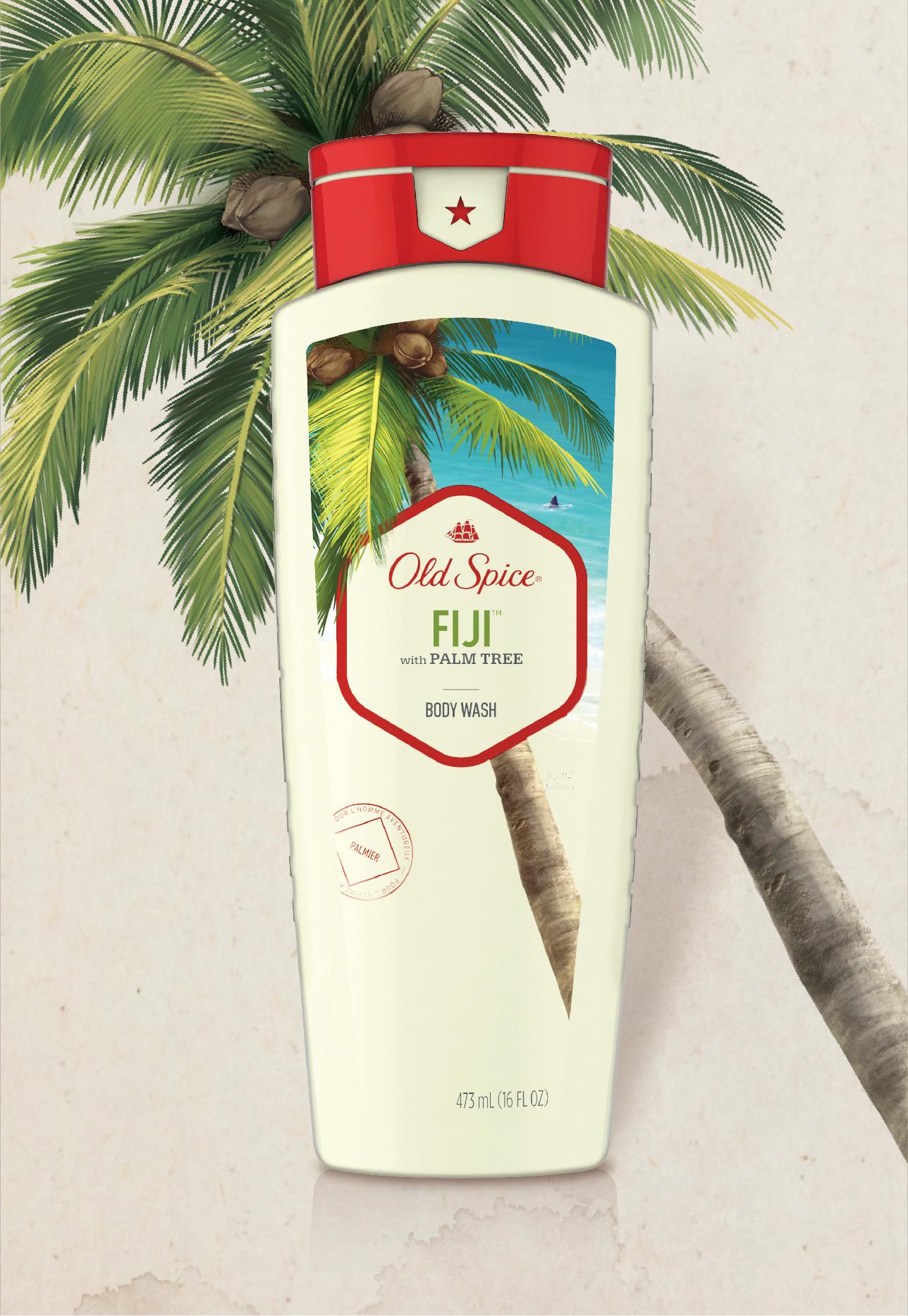 Fiji with Palm Tree Body Wash