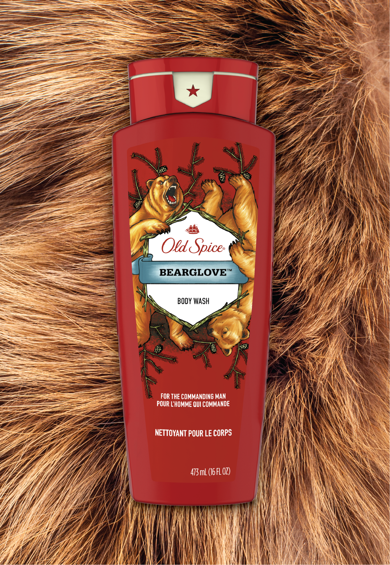 Bearglove Wild Collection Body Wash