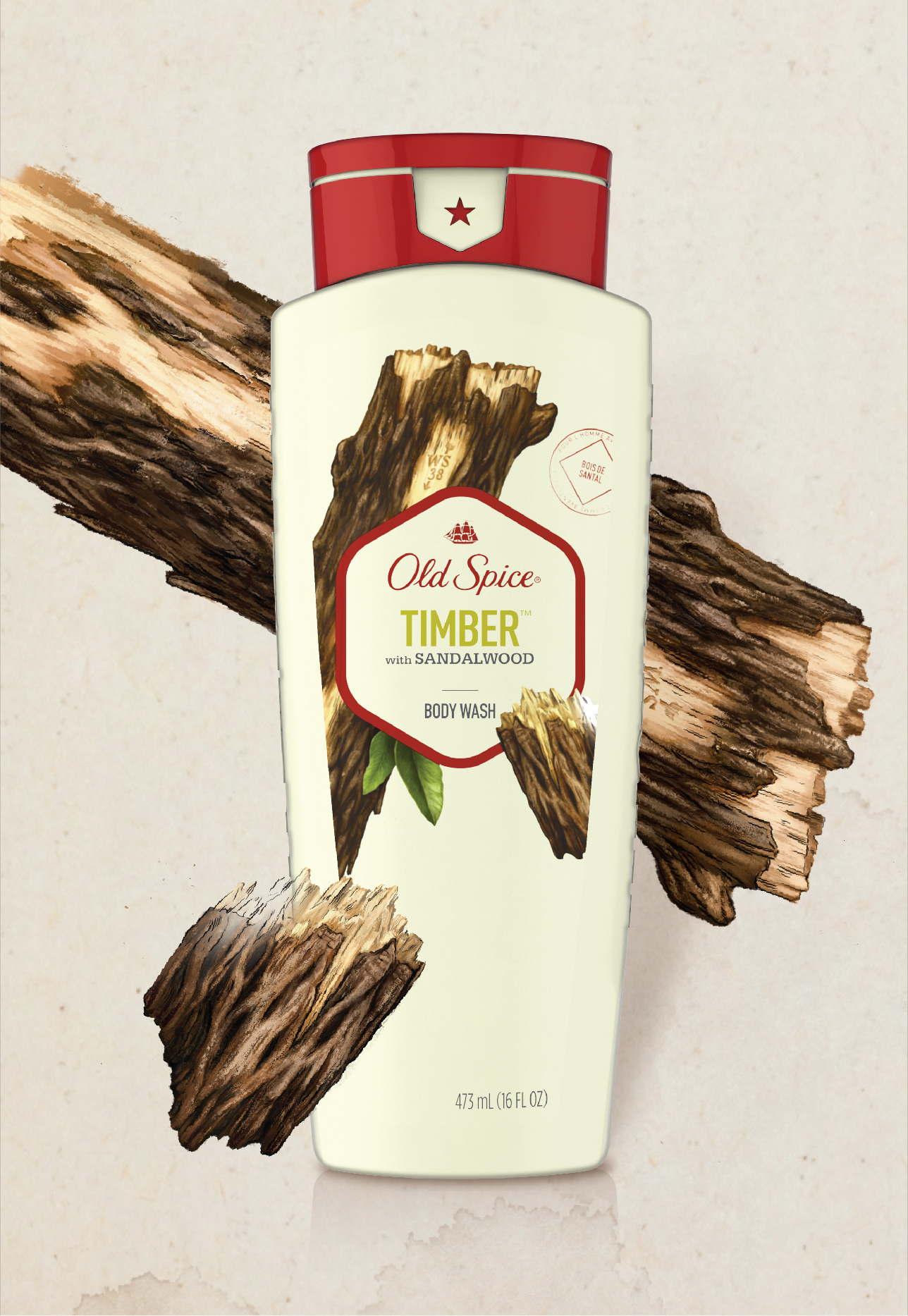 Timber with Sandalwood Body Wash