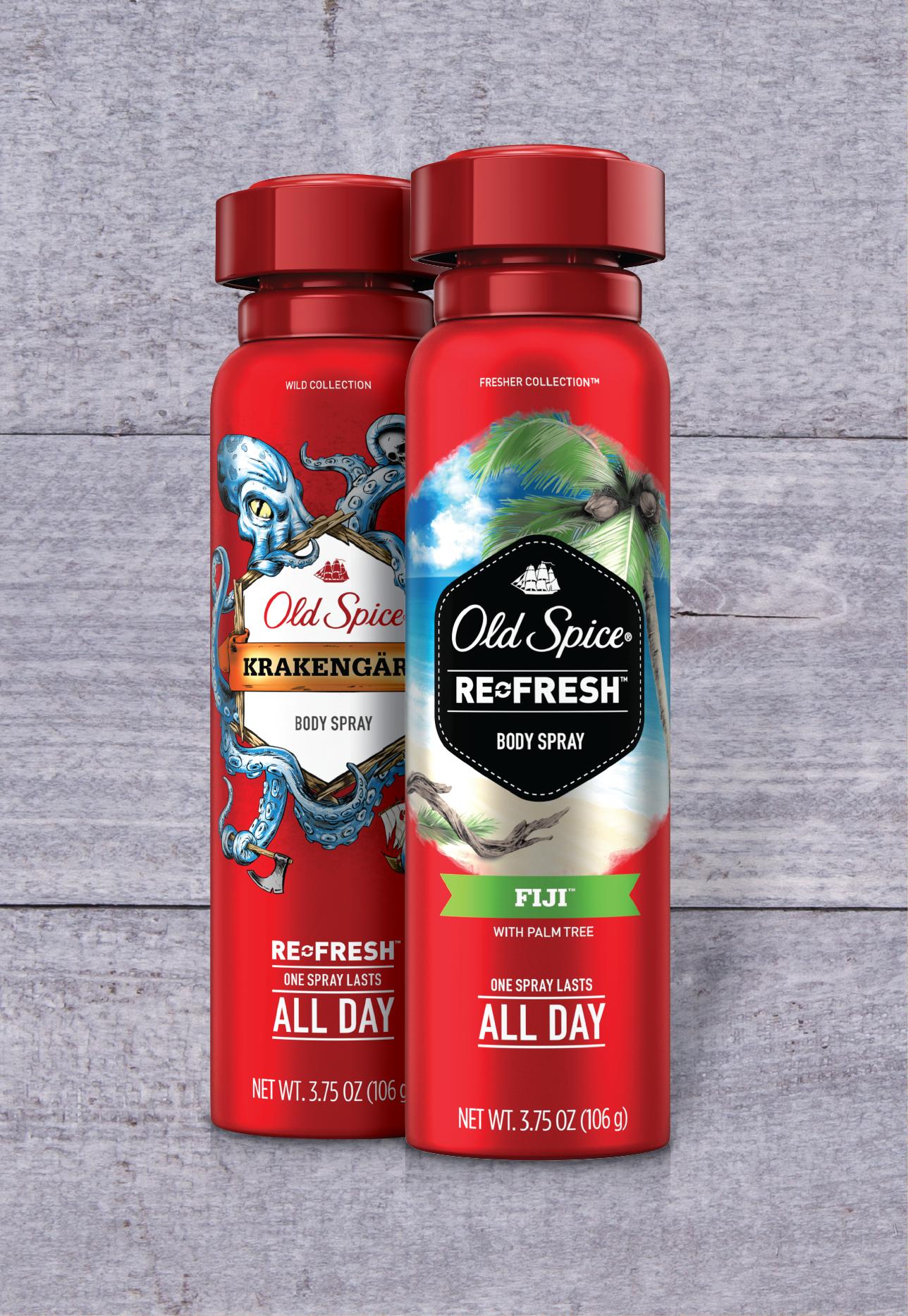 Fiji + Krakengard Body Spray Twin Pack