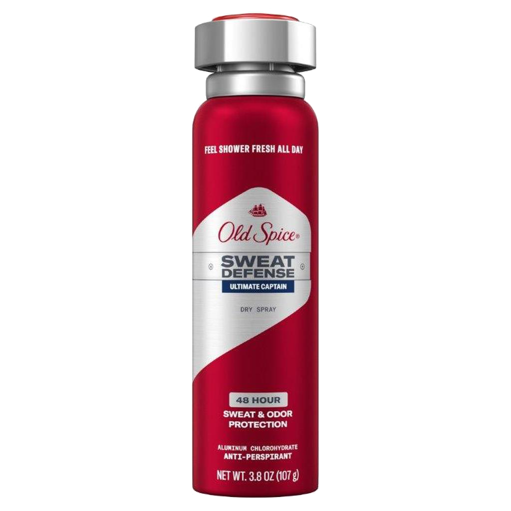 Ultimate Captain Sweat Defense Dry Spray