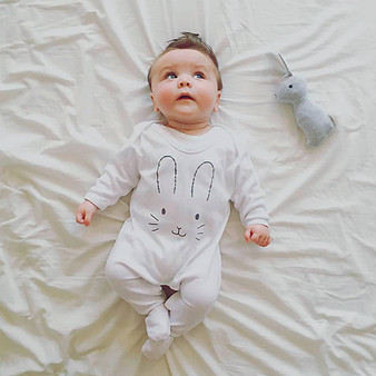 Wholesale bunny rabbit baby clothing