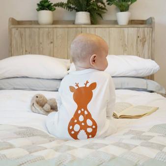 Woodland Animal Baby Sleepsuit