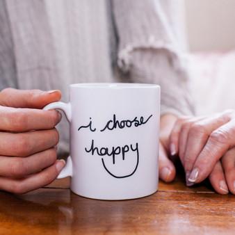 I choose happy mug