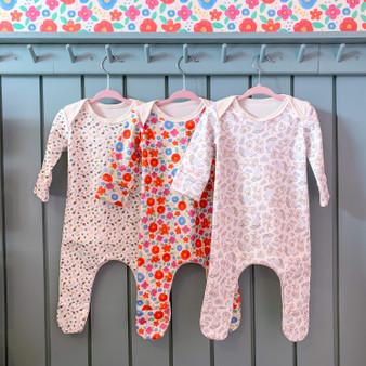 Organic Baby Sleepsuits