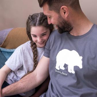Men's Bear Print T Shirts