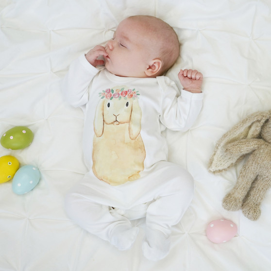 Wholesale baby easter bunny outfit