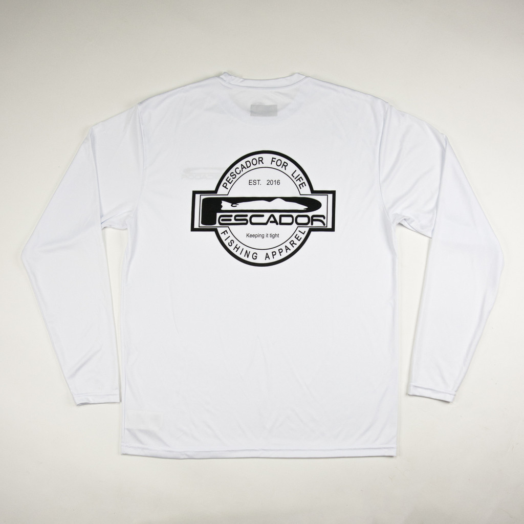Youth  Pescador White  Dry Fit
