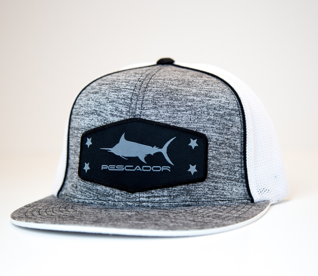 Black Marlin Heather Fitted