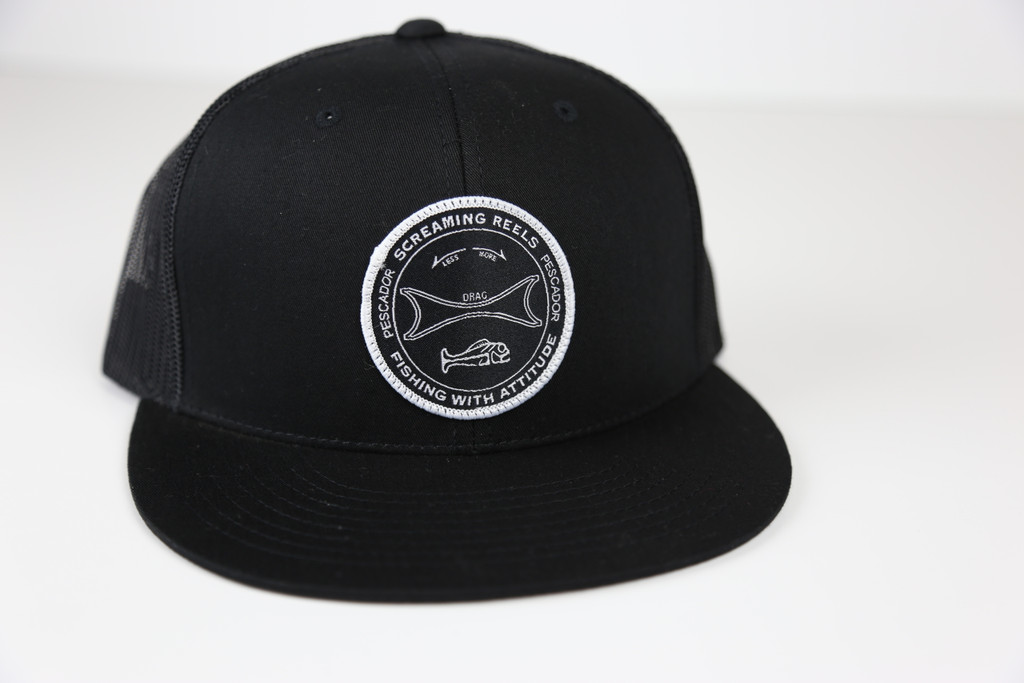 Screaming Reels Black Snap Back