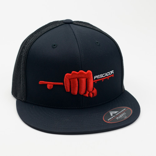 """""""The Norris"""" Fitted Black/Red"""