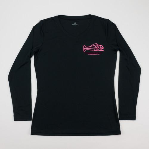 Pescadora Black/Pink V-neck