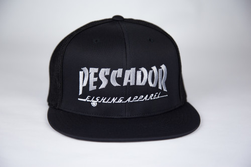 Fish Punk Black/Gray Fitted