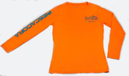 Pescadora Neon Orange V-neck