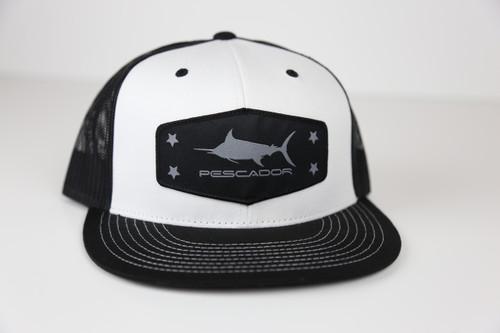 Marlin Black/White Snap Back