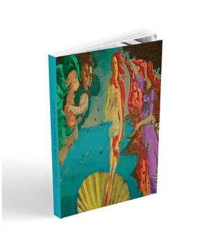 "academic agenda planner.  two year planner 6x9"" soft cover.  collectible Sandro Botticelli Neoclassical pop art cover."