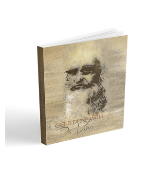 academic year planner 2018-2019 daily and monthly planner.  Collectible Leonardo da Vinci Neoclassical POP  cover