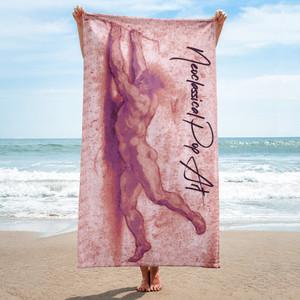 On sale Sir Peter Paul Rubens  Neoclassical pop art brown luxury cool beach towels for guys by Neoclassical Pop Art