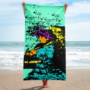 Manet | Neoclassical Day Towel