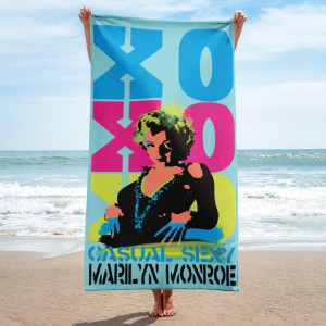 Collectible Marilyn Monroe Towel
