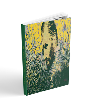 2019 day planner. Collectible Van Gogh neoclassical pop art cover art  by BWM Collection