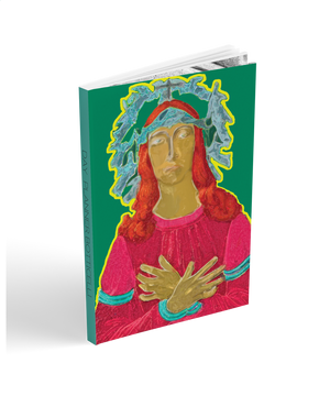 "academic agenda planner Botticelli Trust Collectible cover art.  two year planner 6x9"" soft cover collectible art"