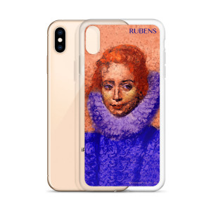 rubens clara bule orange neoclassical pop art iphone cases
