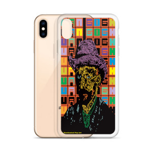 Creative Neoclasical Pop Art van gogh hat self portrait iphone case