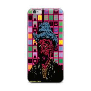 neoclassical pop art van gogh grey felt hat self-portrait iphone cases