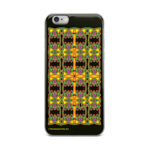 The best  Da vinci golden geometric pattern forming cross iphone case