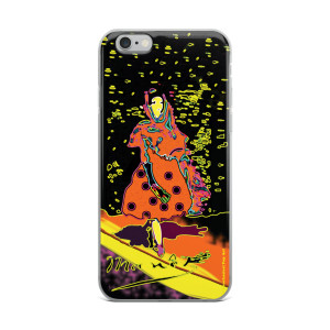 Eduard Manet lola de valence Neoclassical Pop Art orange Yellow collectible iPhone cases