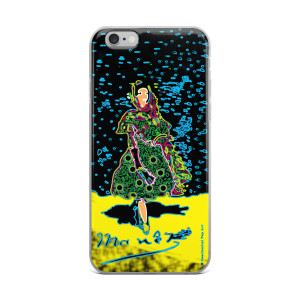 Eduard Manet lola de valence Neoclassical Pop Art green yellow blue collectible iPhone cases