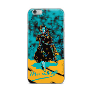 Eduard Manet lola de valence Neoclassical Pop Art Blue Yellow collectible iPhone cases