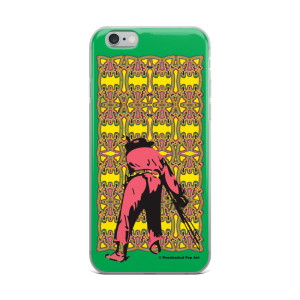 Pink Yellow Green Manet ft. Da Vinci neoclassical pop art iphone case for sale