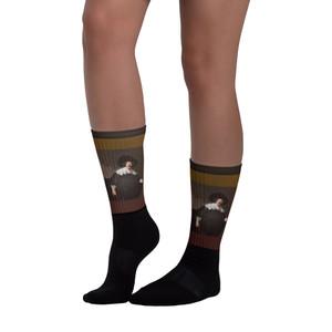 Elegant Rembrandt Fun Museum Art Socks