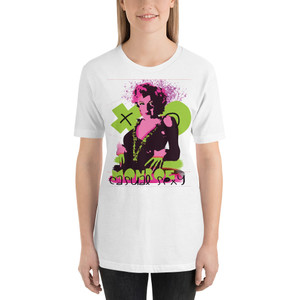 Marilyn Monroe XOXO Short-Sleeve Unisex T-Shirt by Neoclassical Pop Art