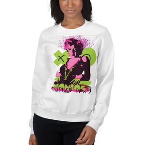 Marilyn Monroe XOXO Unisex Sweatshirt by Neoclassical Pop Art