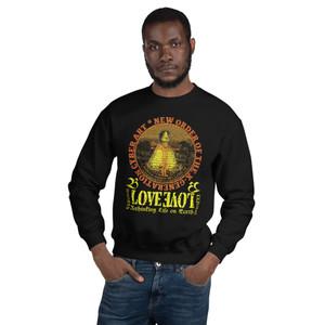 LEONARDO Da Vinci X-Generation FSHION  featuring the Vitruvian man in pop culture  Unisex Sweatshirt by Neoclassical pop art designer brand online store