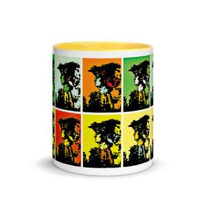 Leonardo da Vinci ft. Andy Warhol best mug by Neoclassical Pop Art