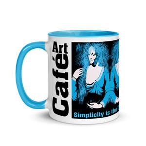 Best Leonardo da Vinci artistic coffee mugs by Neoclassical Pop Art