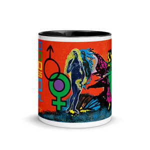 sandro botticelli mug for lovers. Venus rising from the sea mug by Neoclassical Pop Art