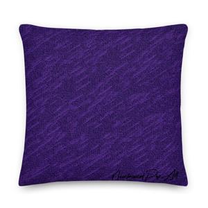 On sale Velazquez Portrait Purple Premium decorative throw pillow Pillow by Neoclassical Pop Art designer online art fashion and design brand store