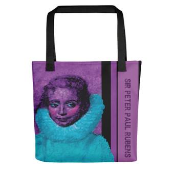 Sir Peter Paul Rubens Isabella purple blueTote bag for sale online by Neoclassical Pop Art