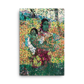 Paul Gauguin Thiiti Woman When Will You Marry? Print on Canvas by Neoclassical Pop Art