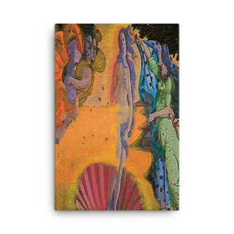 Botticelli  | 'Venus in Light' Print on Canvas